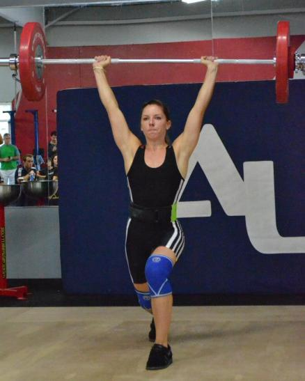 anna clean and jerk